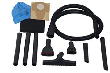 CARAMBA AUTO 5.0 Nass Trocken Sauger - Staubsauger mit Blasfunktion mit 5 Düsen - perfekt abgestimmt für die Auto Innen Reinigung, Polster Sitze Fußmatten Kofferraum sowie zum trocknen und ausblasen - 3