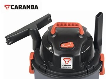 CARAMBA AUTO 5.0 Nass Trocken Sauger - Staubsauger mit Blasfunktion mit 5 Düsen - perfekt abgestimmt für die Auto Innen Reinigung, Polster Sitze Fußmatten Kofferraum sowie zum trocknen und ausblasen - 4