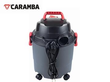 CARAMBA AUTO 5.0 Nass Trocken Sauger - Staubsauger mit Blasfunktion mit 5 Düsen - perfekt abgestimmt für die Auto Innen Reinigung, Polster Sitze Fußmatten Kofferraum sowie zum trocknen und ausblasen - 6