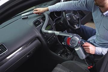 Black+Decker Autosauger Dustbuster Pivot, Bürstenaufsatz, Fugendüse, flexiblem Saugschlauch, Aufbewahrungsnetz, PV1200AV-XJ - 4