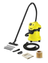 Kärcher Mehrzwecksauger WD 3 P Extension Kit mit Steckdose und 1,5 m Saugschlauchverlängerung - 1