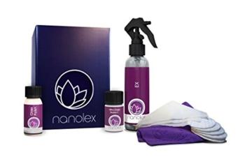 Nanolex Ultra Kfz Windschutzscheibe Glas Regen Spielzimmer Versiegelungsmittel Bundle bieten - 1