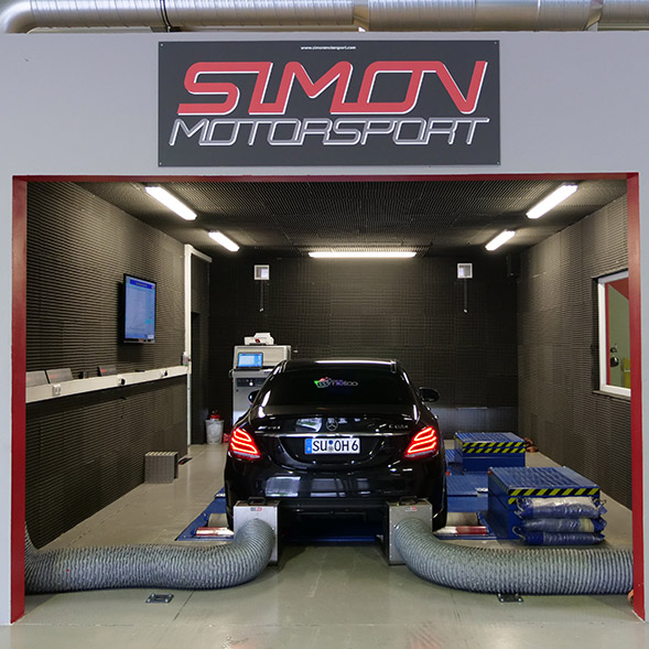 Simon Motorsport Leistungsprüfstand