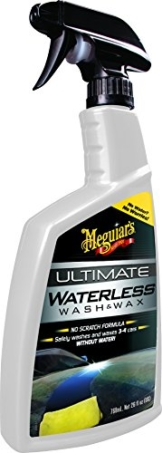 Meguiar's G3626EU Ultimate Waterless Wash & Wax Trockenwäsche, 769ml - 1