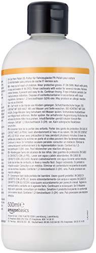 Amazon Basics - Autopolitur, 500-ml-Flasche mit Klappdeckel - 2