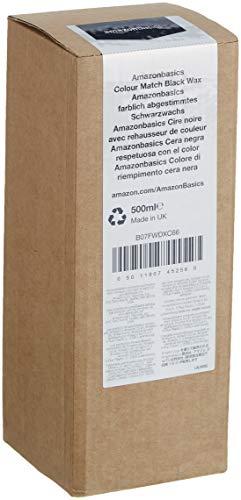 Amazon Basics - Wachs, für Autolacke mit der gleichen Farbe, Schwarz, 500ml, Flasche mit Klappdeckel - 4