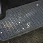 Fußmatten reinigen vorher