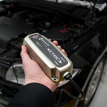 CTEK MXS 5.0 Vollautomatisches Ladegerät (Optimale Ladung, Unterhaltungsladung und Instandsetzung von Auto- und Motorradbatterien) 12V, 5 Amp. – EU Stecker - 4