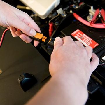 CTEK MXS 5.0 Vollautomatisches Ladegerät (Optimale Ladung, Unterhaltungsladung und Instandsetzung von Auto- und Motorradbatterien) 12V, 5 Amp. – EU Stecker - 5