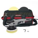 Dino KRAFTPAKET 21mm-720W Exzenter Poliermaschine Stufenlos im Set mit Polierschwamm Polierteller Tasche für Auto KFZ Boot XXL-HUB - 1