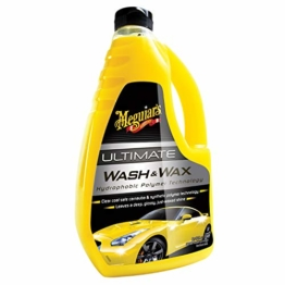 Meguiar's G17748EU Ultimate Wash & Wax Autoshampoo, 1420ml - 1