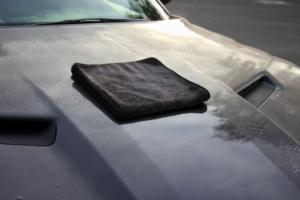 Auto richtig abtrocknen