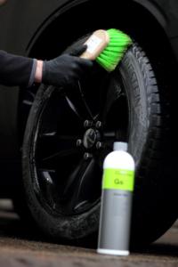 Reifenreinigung Bürste