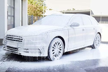 SONAX XTREME RichFoam Shampoo (1 Liter) Schaum-Shampoo / Snow Foam Shampoo erzeugt dichten, langhaftenden & schmutzlösenden Schaumteppich, ph-neutral, Berry-Duft | Art-Nr. 02483000 - 4