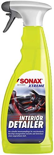 SONAX XTREME Interior Detailer (750 ml) reinigt & pflegt schnell den kompletten Fahrzeuginnenraum, staubabweisend, silikonfrei, anti-statisch, angenehmer Duft | Art-Nr. 02204000 - 1