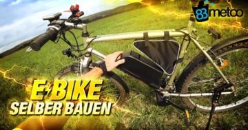 E-Bike selber bauen Fahrrad selber zu E Bike aufrüsten