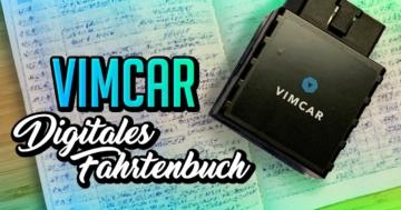 Vimcar Fahrtenbuch Test