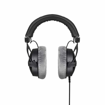 beyerdynamic DT 770 PRO 80 Ohm Over-Ear-Studiokopfhörer in schwarz. Geschlossene Bauweise, kabelgebunden für professionelles Recording und Monitoring - 3