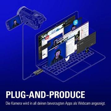 Corsair Elgato Cam Link 4K, Live-Streamen und Aufnehmen mit DSLR, Action Cam oder Camcorder in 1080p60 oder 4K bei 30 fps, HDMI Capture-Gerät, USB 3.0 - 5