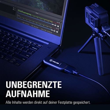 Corsair Elgato Cam Link 4K, Live-Streamen und Aufnehmen mit DSLR, Action Cam oder Camcorder in 1080p60 oder 4K bei 30 fps, HDMI Capture-Gerät, USB 3.0 - 7