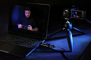Corsair Elgato Cam Link 4K, Live-Streamen und Aufnehmen mit DSLR, Action Cam oder Camcorder in 1080p60 oder 4K bei 30 fps, HDMI Capture-Gerät, USB 3.0 - 9