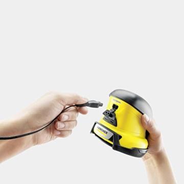 Kärcher EDI 4 Elektrischer Eiskratzer (Akkubetrieben, 15 min Laufzeit, inkl. 6 Klingen, für die Autoscheibe, 540 g Gewicht, Schutzkappe, mit Ladegerät) - 2