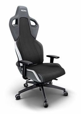 RECARO Exo Gaming Chair – Ergonomischer, höhenverstellbarer Stuhl für Gamer mit 4 Grundpositionen & Feinjustierung – Shadow Grey - 1