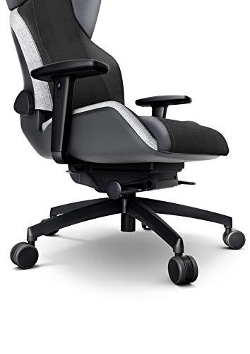 RECARO Exo Gaming Chair – Ergonomischer, höhenverstellbarer Stuhl für Gamer mit 4 Grundpositionen & Feinjustierung – Shadow Grey - 5