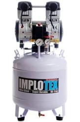 1500W 2PS Silent Flüsterkompressor Druckluftkompressor 60dB leise ölfrei flüster Kompressor Compressor IMPLOTEX - 1