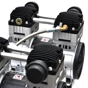 3000W 4PS Silent Flüsterkompressor Druckluftkompressor Kompressor 65dB leise ölfrei inkl. Ausblaspistole und Druckluftschlauch IMPLOTEX - 7