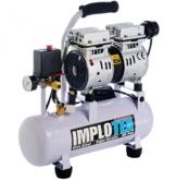 480W Silent Flüsterkompressor Druckluftkompressor nur 48dB leise ölfrei flüster Kompressor Compressor IMPLOTEX - 1
