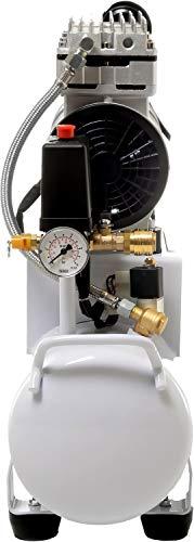 850W 14L Silent Flüsterkompressor Druckluftkompressor nur 55dB leise ölfrei flüster Kompressor Compressor IMPLOTEX - 3
