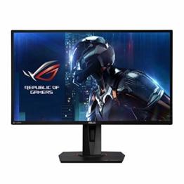 ASUS ROG Swift PG279QE 68,58 cm (27 Zoll) Gaming Monitor (WQHD, G-Sync, 4ms Reaktionszeit, bis zu 165Hz, HDMI, DisplayPort) schwarz - 1