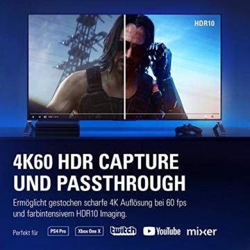 Corsair Elgato Game Capture 4K60 Pro MK.2 (4K60FPS HDR Capture, PCI x 4 (Intern) und Passthrough, PCIe Capture Card, Ultra-Low-Latency Technologie) - 3