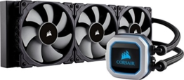 CORSAIR Hydro Series H150i PRO RGB CPU-Flüssigkeitskühlung (360-mm-Radiator, drei ML Series 120-mm-PWM-Lüfter, RGB-Beleuchtung und Lüfter, Intel 115x/2066 und AMD AM4 kompatibel) - 1