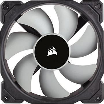CORSAIR Hydro Series H150i PRO RGB CPU-Flüssigkeitskühlung (360-mm-Radiator, drei ML Series 120-mm-PWM-Lüfter, RGB-Beleuchtung und Lüfter, Intel 115x/2066 und AMD AM4 kompatibel) - 7