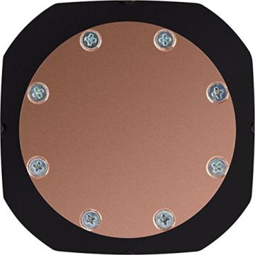 CORSAIR Hydro Series H150i PRO RGB CPU-Flüssigkeitskühlung (360-mm-Radiator, drei ML Series 120-mm-PWM-Lüfter, RGB-Beleuchtung und Lüfter, Intel 115x/2066 und AMD AM4 kompatibel) - 8