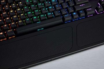 Corsair K70 RGB MK.2 Mechanische Gaming Tastatur (Cherry MX Silent: Leichtgängig und Flüsterleise, Dynamischer RGB LED Hintergrundbeleuchtung, QWERTZ DE Layout) schwarz - 8