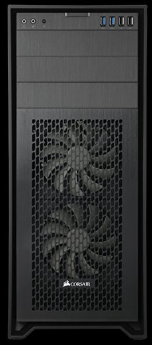 Corsair Obsidian Series 750D Airflow Edition PC-Gehäuse (Seitenfenster Full Tower ATX High Airflow Performance) schwarz - 2