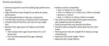 Corsair Obsidian Series 750D Airflow Edition PC-Gehäuse (Seitenfenster Full Tower ATX High Airflow Performance) schwarz - 11