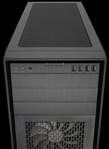Corsair Obsidian Series 750D Airflow Edition PC-Gehäuse (Seitenfenster Full Tower ATX High Airflow Performance) schwarz - 12