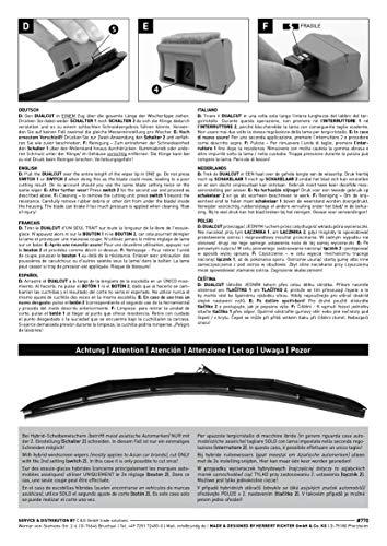 DUAL.CUT 727 Scheibenwischer-Nachschneider I Auto Scheibenwischer Schneider I Wischblätter Reparieren Schnell und Einfach I DIY Smart Repair und Autozubehör - 7