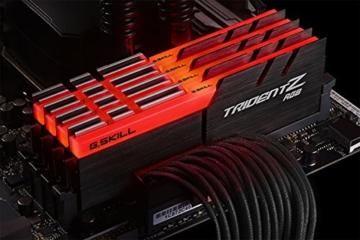 G.Skill Trident Z RGB 64GB DDR4 3600MHz Speichermodul - Speichermodule (64 GB, 4 x 16 GB, DDR4, 3600 MHz, Schwarz) - 3