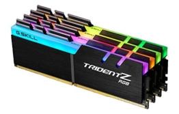 G.Skill Trident Z RGB 64GB DDR4 3600MHz Speichermodul - Speichermodule (64 GB, 4 x 16 GB, DDR4, 3600 MHz, Schwarz) - 1