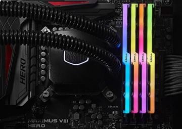 G.Skill Trident Z RGB 64GB DDR4 3600MHz Speichermodul - Speichermodule (64 GB, 4 x 16 GB, DDR4, 3600 MHz, Schwarz) - 6