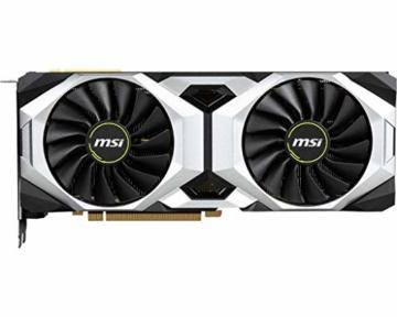 MSI NVIDIA Geforce RTX 2080Ti Ventus GP 11G Grafikkarte, 11GB, GDDR6, 1545MHz, 3 x DisplayPort, HDMI, Kühlsystem mit Zwei Lüftern - 2