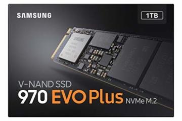 Samsung MZ-V7S1T0BW 970 EVO Plus 1 TB NVMe M.2 Interne SSD Schwarz - 5