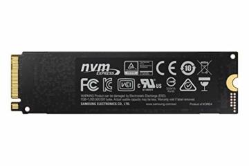 Samsung MZ-V7S2T0BW 970 EVO Plus 2 TB NVMe M.2 Interne SSD Schwarz - 4