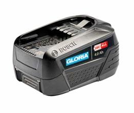 GLORIA 18 v 4.0 Ah BOSCH Akku - Power for all, Home and Garden Linie (für MultiJet 18V, WeedBrush li-on, MultiBrush li-on) - 1