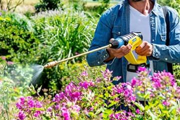 GLORIA Pflanzenschutz Set für MultiJet 18V - Zubehör für mobilen Akku-Hochdruckreiniger zur Pflanzenpflege (Messing Sprühlanze, inkl. tragbarer 10 L Behälter) - 2